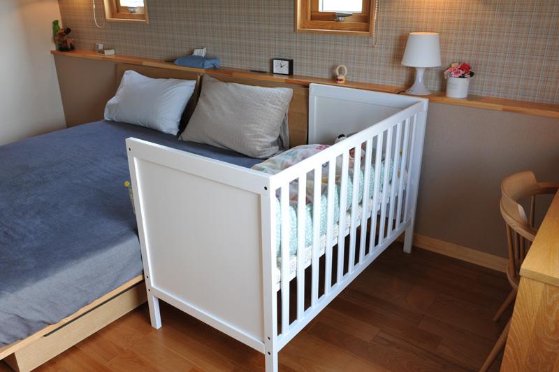 柵 赤ちゃん ベッド