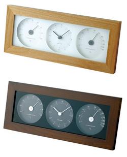 無印良品のデジタル温湿度計は存在感がないので、各部屋にひとつ置いてもインテリア性を損なうことはないし、なによりシンプルなので飽きがきません。
